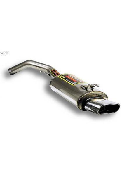 Supersprint Sportauspuff Endschalldämpfer 145x75 Edelstahl - Fiat Stilo 1.2-1.6-1.8-1.9JTD und 2.4i Abarth 01 - 08