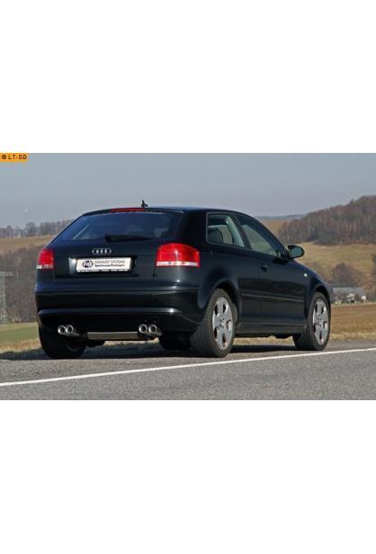 HALTER AUDI A3 8P1 8P7 8PA Cabriolet,Sportback » HJS ABGASANLAGE