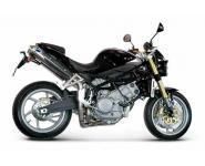 Termignoni Slip On konische Form, Version V4A für MOTO MORINI Corsaro 1200 Bj. 05-10