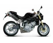 Termignoni Slip On konische Form, Version Titan/Titan für MOTO MORINI Corsaro 1200 Bj. 05-10