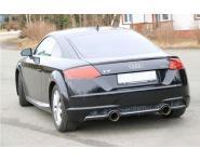 FOX Sportauspuff Endschalldämpfer Audi TT FV3 2.0TFSI quattro  re/li 1x100mm Typ 25
