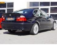 Einzelanfertigung Komplettanlage ab Kat. für BMW Alpina B3