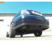 Einzelanfertigung Sportauspuff Endschalldämpfer für Rover 75