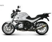 Akrapovic elliptischer Schalldämpfer mit Titan-Außenhülle Slip-On - BMW R 1200 R ab 11