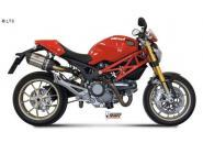 Mivv Sport-Line Suono Carbon Schalldämpfer Slip on für DUCATI MONSTER 1100 ab Bj. 08