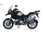 Mivv Sport-Line Suono Edelstahl Schalldämpfer Slip on für BMW R 1200 GS Bj. 04-07