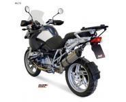 Mivv Sport-Line Suono Voll Titan Schalldämpfer Slip on für BMW R 1200 GS Bj. 04-07