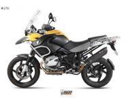 Mivv Sport-Line Suono Voll Carbon Schalldämpfer Slip on für BMW R 1200 GS ab Bj. 10
