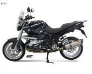 Mivv Sport-Line Suono Edelstahl Schalldämpfer Slip on für BMW R 1200 R ab Bj. 08