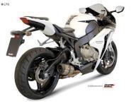 Mivv Sport-Line Suono Full Titan Schalldämpfer Slip on für HONDA CBR 1000 RR ab Bj. 08