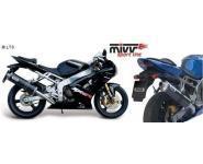 Mivv Sport-Line Oval Carbon Schalldämpfer Slip on für KAWASAKI ZX-6 R 636 Bj. 03-04