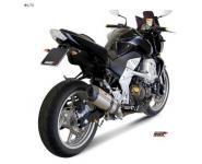 Mivv Sport-Line Suono Full Titan Schalldämpfer Slip on für KAWASAKI Z 750 ab Bj. 07