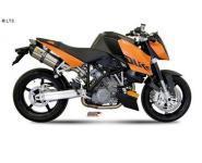 Mivv Sport-Line Suono Full Titan Schalldämpfer Slip on für KTM 990 SUPERDUKE ab Bj. 05