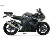 Mivv Sport-Line GP Titan Endschalldämpfer Slip on für YAMAHA YZF 600 R6 Bj. 03-05