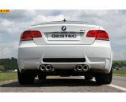 Einzelanfertigung Duplex Endschalldämpfer für BMW 3er E92 Coupe M3 - rechts links je 2 ER rund