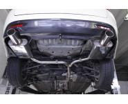 FOX Sportauspuff Honda Accord 8 Lim. Tourer ab Bj. 08 2.0l 2.4l 2.2l i-CTDi  rechts links je 1 x 100mm