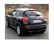 FOX Sportauspuff Nissan Juke 1.6l ab Bj. 10 - 1 x 90mm mit Type-B-Einsatz (RohrØ 55mm)