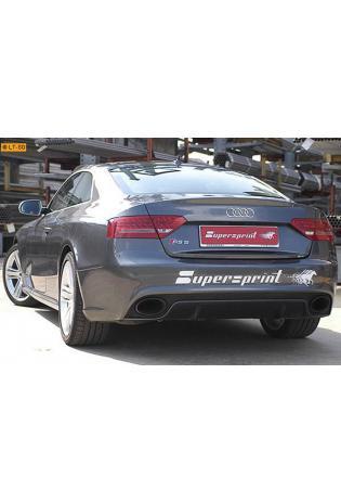 Supersprint Sportauspuffanlage ab Kat. rechts-links - Audi A5 RS5 Coupe 4.2i ab Bj. 10