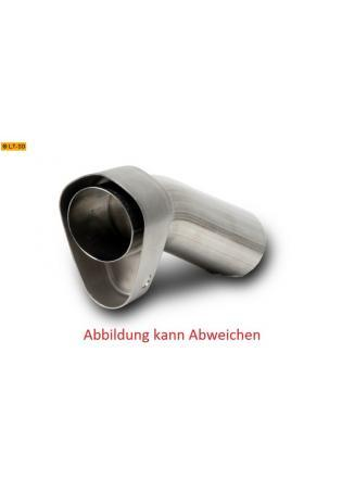 Akrapovic db-Eater Hexagonal VTUV096L aus Edelstahl zum nachrüsten