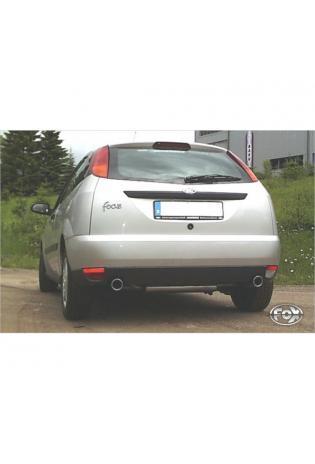 FOX Endschalldämpfer Duplex Ford Focus I Fließheck DAW/DBW rechts links je 1x90mm