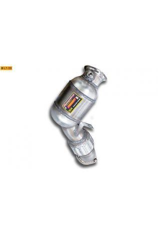 Supersprint Sportauspuff Turbo Downpipe inkl. Metall-Kat. rechts - BMW X6 E71 5.0i ab 08 und X6 E71 M V8 ab 10