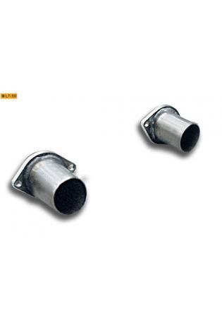 Supersprint Sportauspuff Verbindungsrohrsatz zum Serien-Kat. - Nissan 370Z Coupe u. Cabrio ab Bj. 09
