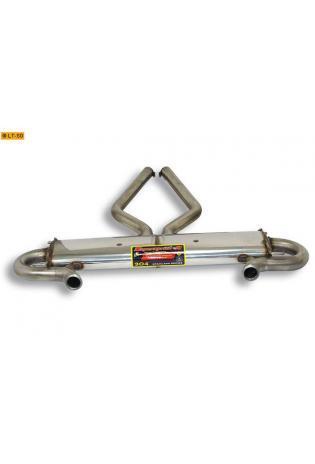 Supersprint Sportauspuff Duplex-Endschalldämpfer ohne Endrohre - Range Rover 4.4i (Mot. BMW) Bj. 02-04 und 2.9TD Bj. 02-04