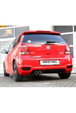 Einzelanfertigung Komplettanlage ab Turbolader für VW Polo 9N GTI 1.8l ab Bj. 08 - 2 ER 76mm