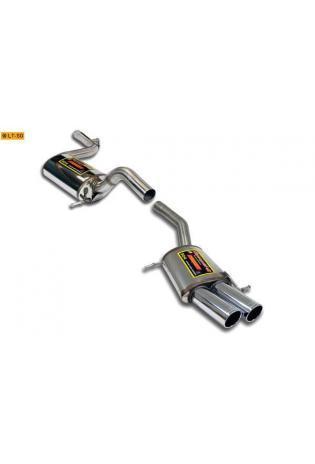 Supersprint Sportauspuffanlage 2x90 rund ab Kat. - VW Passat 3C 3.6 VR6 ab 06 und VW Passat CC 2.0 TSI ab Bj. 09