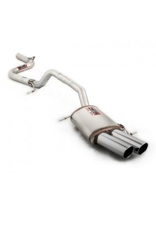 Supersprint Sportauspuff Racinganlage 2x90 rund ab Kat. - VW Passat 3C 3.6 VR6 ab 06 und VW Passat CC 2.0 TSI ab Bj. 09