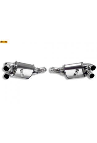 Supersprint Sportauspuff Duplex-Endschalldämpfer rechts-links - Ferrari California 4.3i V8 ab Bj. 09