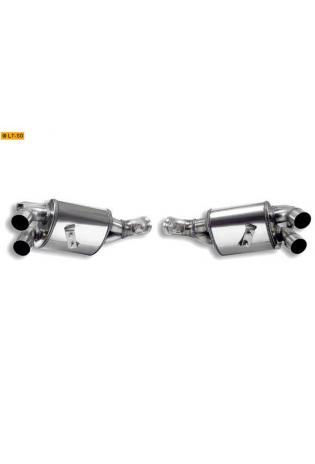 Supersprint Duplex Sportauspuff Komplettanlage rechts-links inkl. Kat. - Ferrari California 4.3i V8 ab Bj. 09