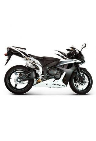 Termignoni Slip On ovale Form, Version Titan/Carbon für HONDA CBR 600 RR Bj. 09-12