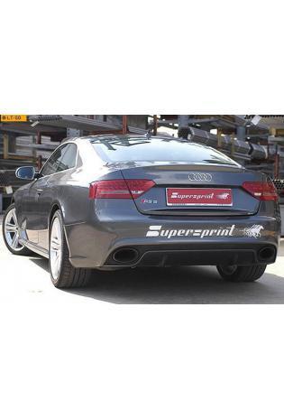 Supersprint Sportauspuff Racinganlage ab Kat. rechts-links - Audi A5 RS5 Coupe 4.2i ab Bj. 10