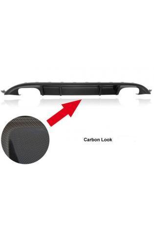 REMUS Heckschürzeneinsatz Carbon Look für je 2 ER links rechts VW Golf 7 Typ AU 2.0l GTI u. Diesel inkl. GTD ab Bj. 13
