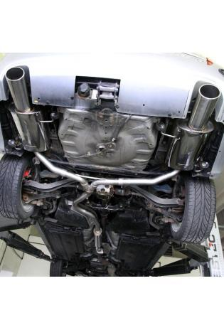 Einzelanfertigung Komplettanlage ab Kat für Subaru Legacy BL/BP Kombi Bj. 06 2.0l - rechts links je 1 ER oval