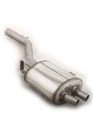 Supersprint Sportauspuff BMW 7er F01-F02 740i 730d 740d ab Bj. 09 - Endschalldämpfer links für Serien-Endrohre
