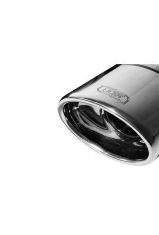 ULTER Sportauspuff Opel Corsa C Bj. 01-06- 1 x 120x80mm oval