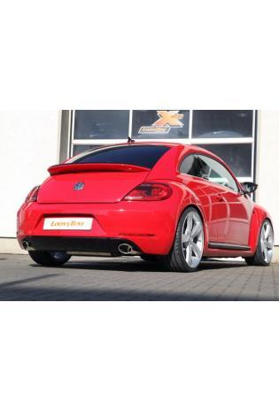 FOX Komplettanlage ab Kat VW Beetle Typ 16  2.0l ab Bj.11 rechts links je 1 x 115x85mm Porsche Design