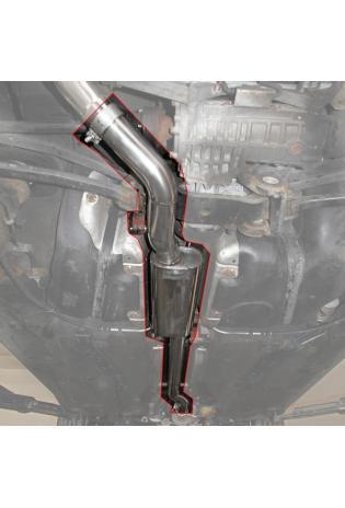 Einzelanfertigung Vorschalldämpfer für Skoda Octavia 1U 1.8l T