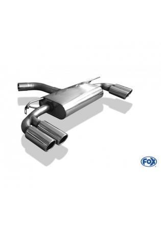 FOX Racing Komplettanlage ab Kat. VW Golf 7 Einzelradaufhängung re/li je 2 x 80mm Type 16