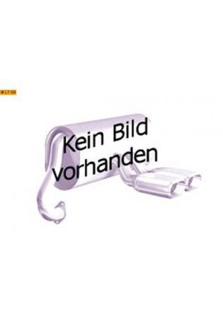 EISENMANN Sportauspuff Endschalldämpfer Edelstahl Mercedes Benz W209 Coupe bis Bj. 05 - 2 x 120x77mm rundoval abgeschrägt eingerollt hartverchromt