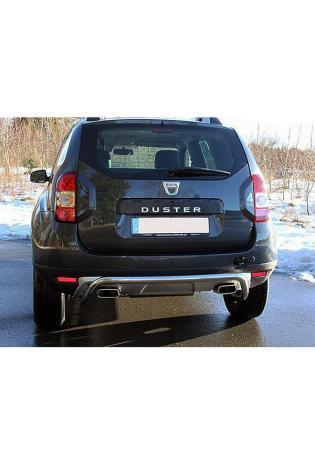 FOX Duplex Sportauspuff Dacia Duster 4x4 Facelift re/li je 145x65 mm Typ 59