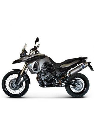 Termignoni Slip On ovale Form, Version V4A/Titan für BMW F 800 GS ab Bj. 08