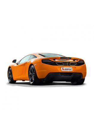 Akrapovic Sportauspuff Endschalldämpfer mit Carbon-Endrohren für McLaren MP4-12C