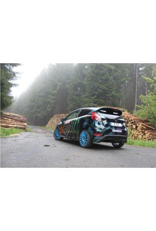 Fox Sportauspuff Komplettanlage ab Kat Ford Fiesta VII ST  63,5mm - 129x106 Typ 32