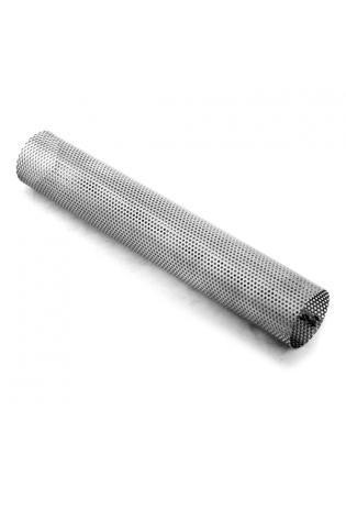 Fox Edelstahl Perforiertes Rohr Ø 80mm mit ausgestanzten Löchern Länge 450mm