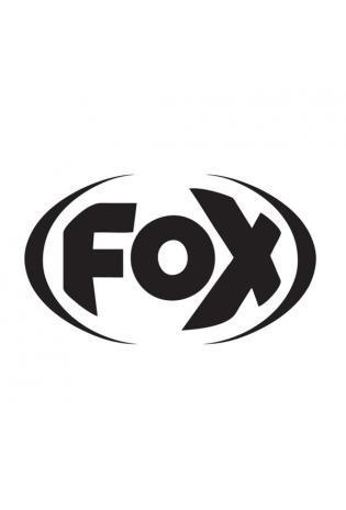 FOX Sticker Schwarz - geplottet  Höhe: 100mm  Breite: 100mm