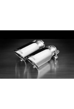 Remus Sportauspuff Endrohrsatz rechts links je 102mm verchromt für Mini Cooper Paceman + Countryman