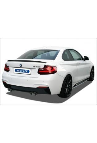 Bastuck Sportauspuff duplex Racinganlage ab Kat. für BMW 2er Coupe F22 - Endrohre je 2x85mm